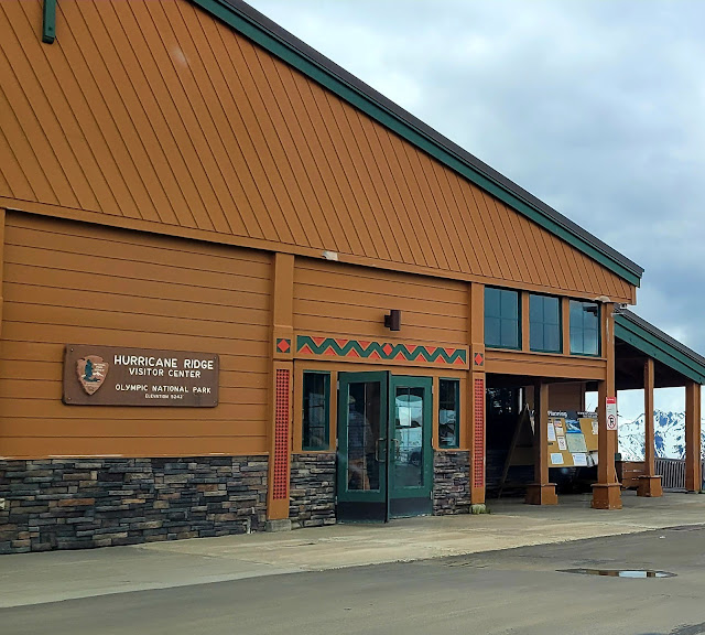 Nice and big visitor center