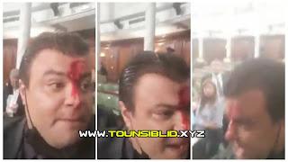 (بالفيديو) خطير الاعتداء بالعنف الشديد من نواب ائتلاف الكرامة على النائب انور الشاهد