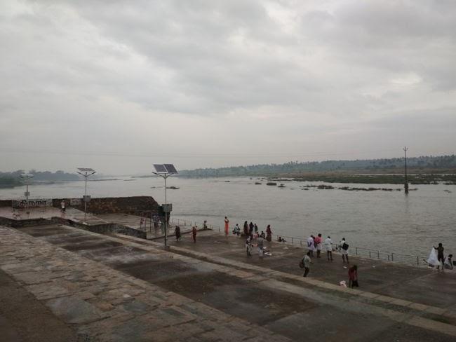 River Near Sri Magudeshwarar Temple