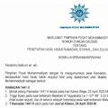 Muhammadiyah Tetapkan Awal Puasa 24 April 2020