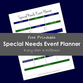 Special Needs Event Planner