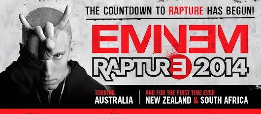 """MAY I HAVE YOUR ATTENTION, PLEASE? The night I went into Rapture with Eminem."""