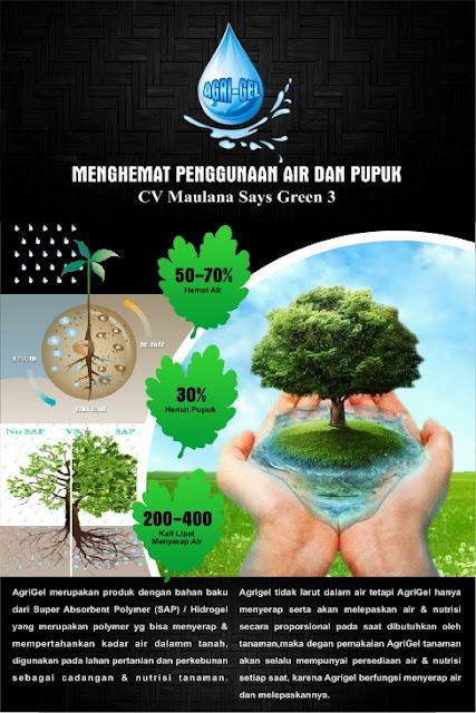 Super Absorbent Polymer (SAP) Hidrogel (Agrigel) Untuk Tanaman