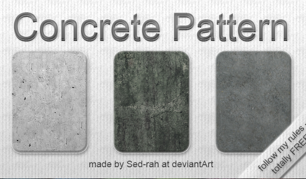Concrete Patterns