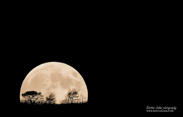 Athens,fullmoon ,nature