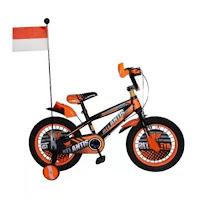 Sepeda Anak Atlantis Twins 3.0 Bendera 16 Inci Kids Fatbike