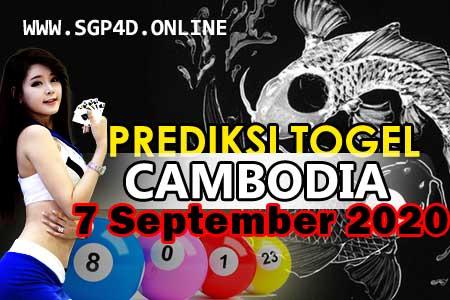 Prediksi Togel Cambodia 7 September 2020