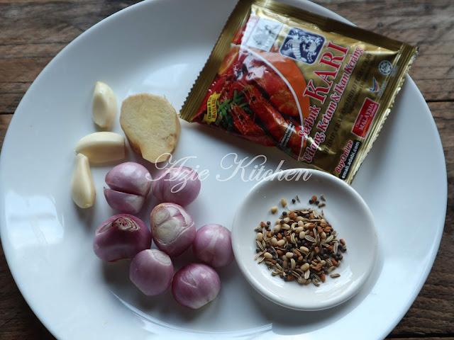 Kari Udang dengan Kacang Buncis