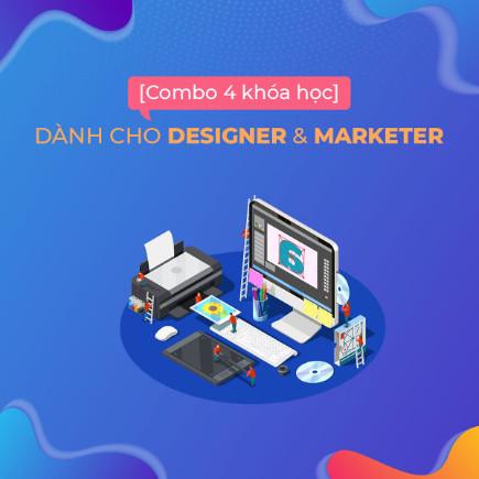 Bộ 4 khóa học thiết kế đồ họa cho designer và marketer ebook PDF EPUB AWZ3 PRC MOBI