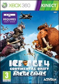 Ice Age 4: Continental Drift (X-BOX360) 2012