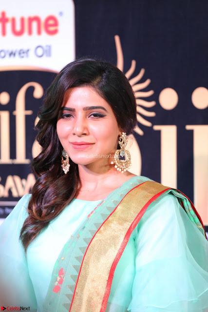 Samantha Ruth Prabhu Looks super cute in a lovely Saree  Exclusive 03.JPG