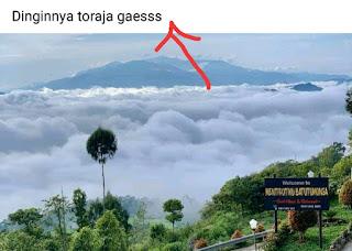 Dinginnya Toraja Status Viral Menjelang Hari Libur