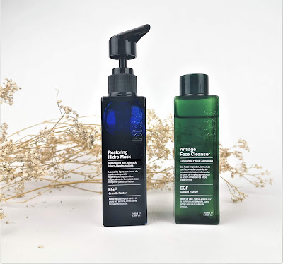 BIOD  - Limpiador facial antiedad y mascarilla hidratante de noche