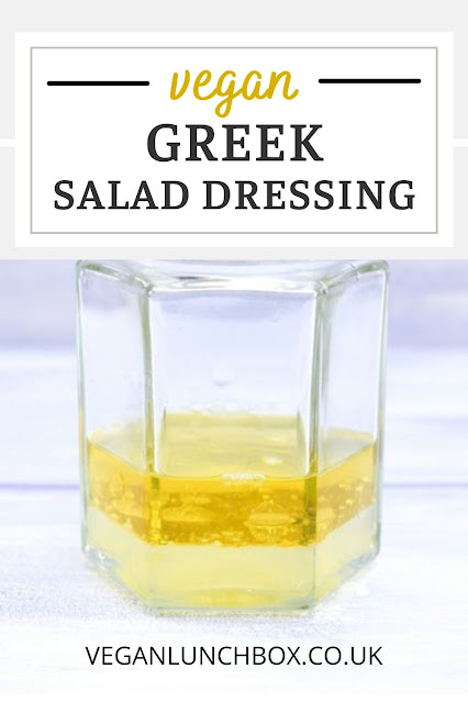 An easy Greek salad dressing with all the flavours of Greece. Drizzle over salads, mix through pasta salad or add to your salad wrap or pitta to add a delicious zing.