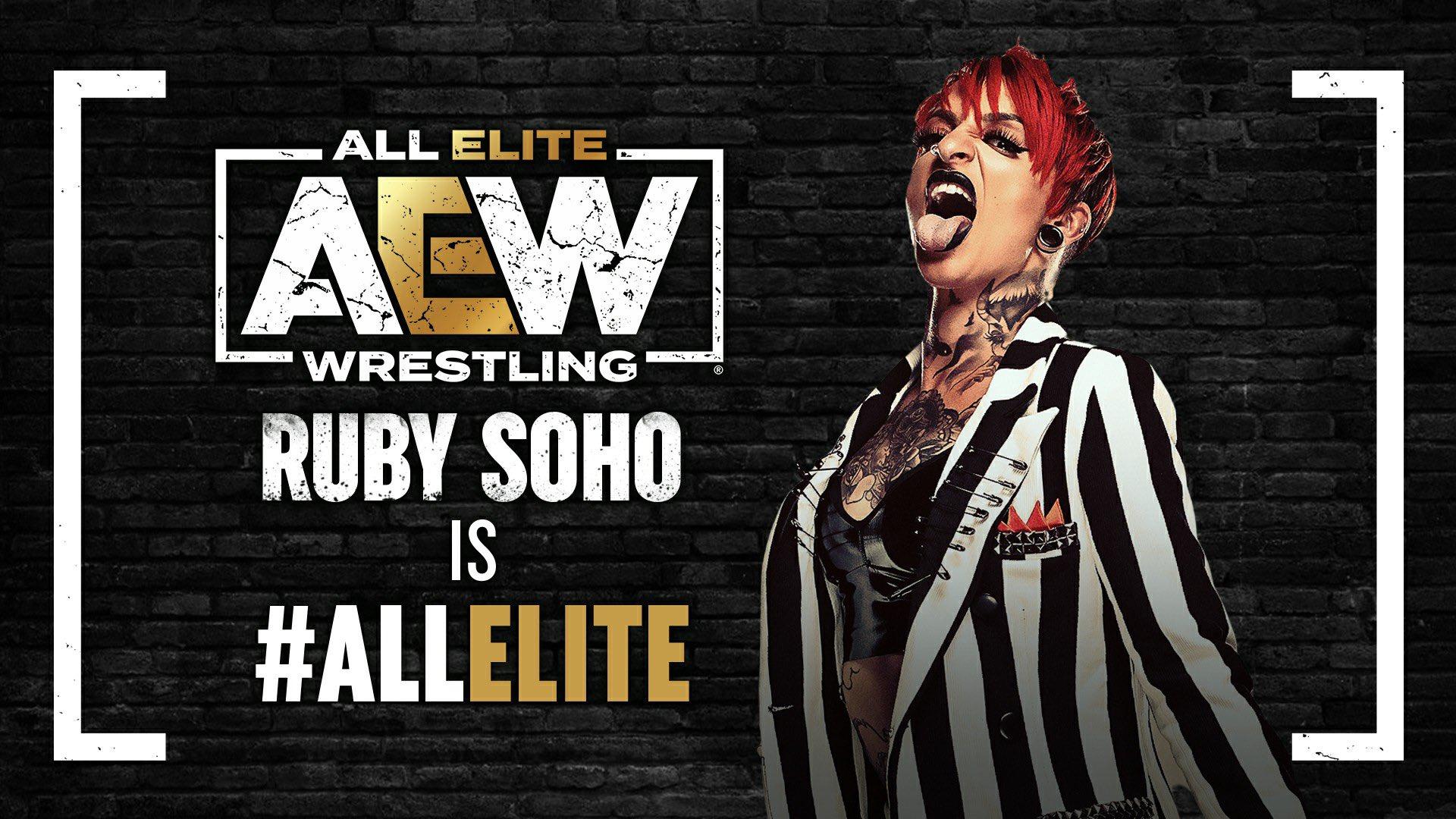Ruby Soho é All Elite Wrestling