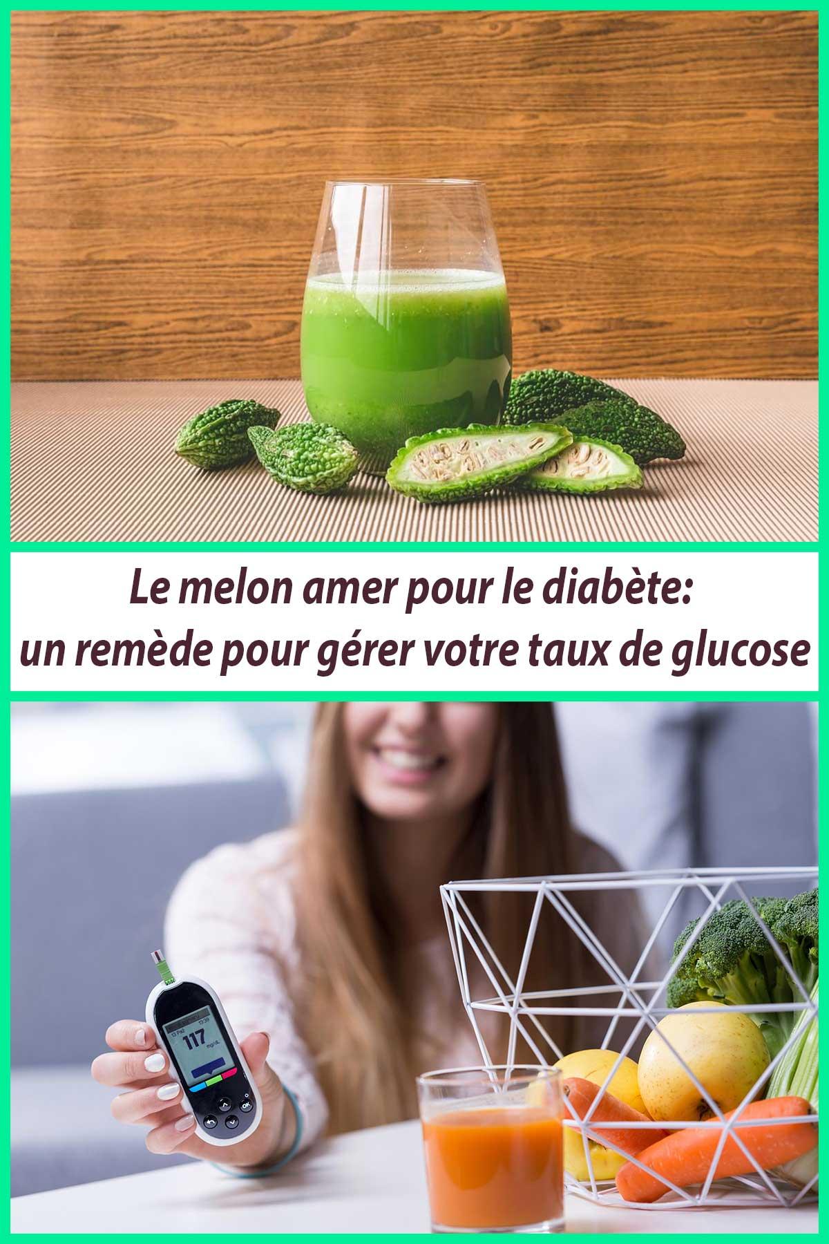 Le melon amer pour le diabète: un remède pour gérer votre taux de glucose