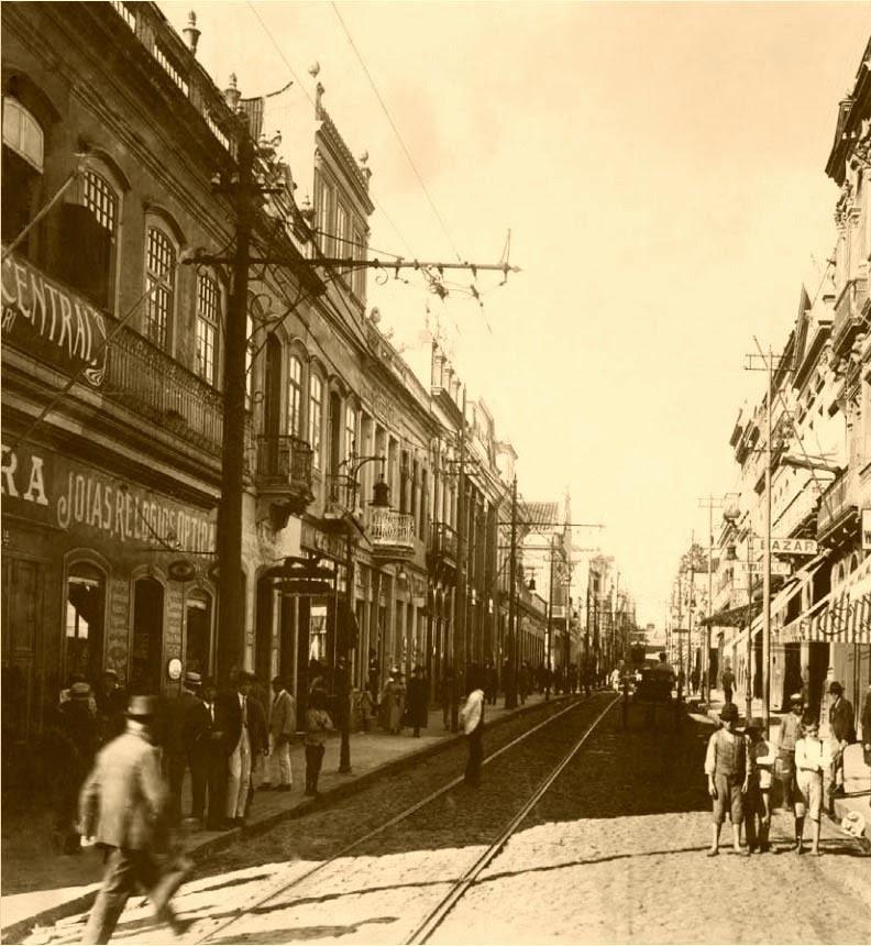 A Rua dos Andradas era o ponto dos atacadistas de Porto Alegre