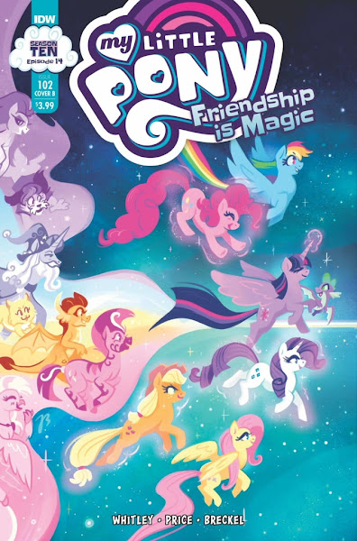My Little Pony Comic #102 - Cover B