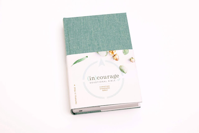 Bible study tips using the new CSB (in)courage Devotional Bible. It highlights 50 women in the Bible and how God worked though their lives.