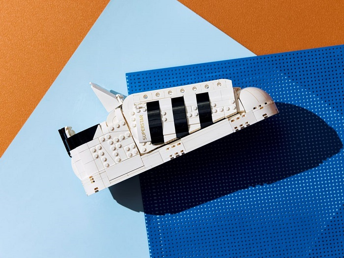 The LEGO Adidas Originals Superstar Sneaker That You Can Put On