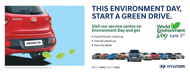 Hyundai Starts a Green Drive this World Environment Day
