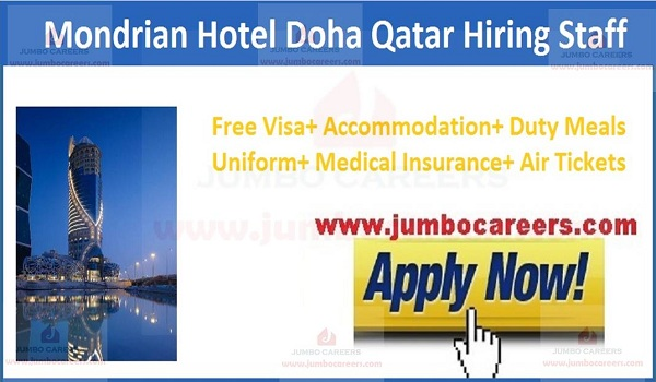 Recent jobs in Qatar with food and accommodation,