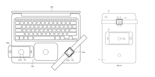 Apple wants to wirelessly charge iPhone with MacBook