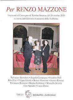 """Recuperi/15 - """"Per Renzo Mazzone"""" Spiritualità & Letteratura, n° 81"""