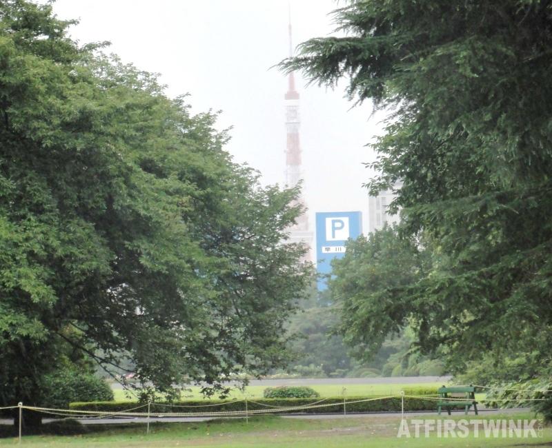 Shinjuku Gyoen 新宿御苑 tower