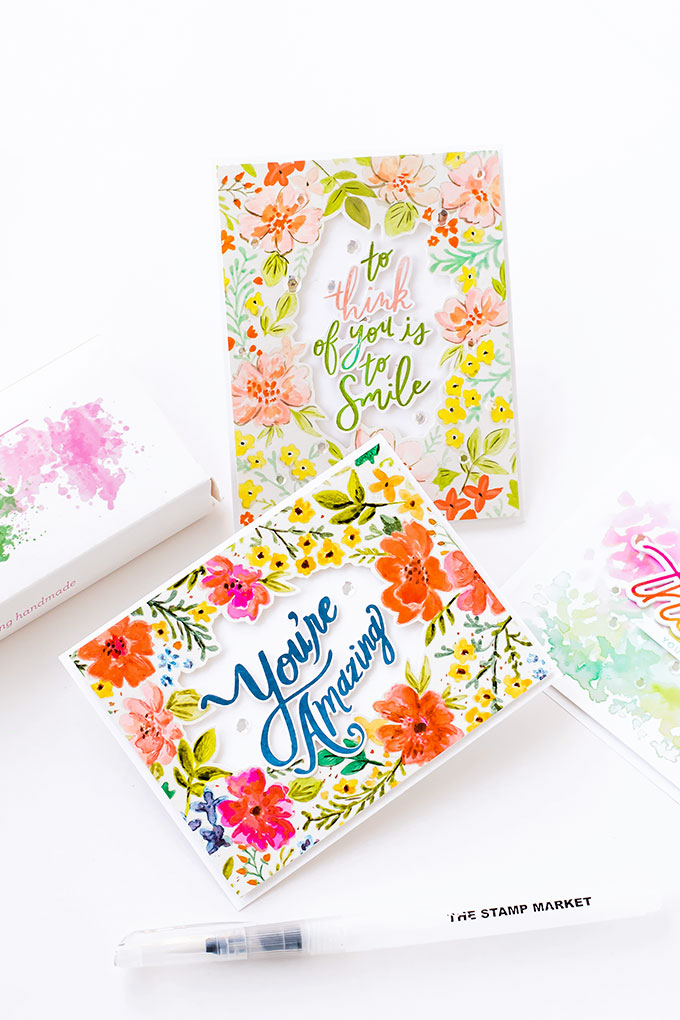 The Stamp Market Watercolor Palette - Full Review (Color Swatches, Properties, and More!)