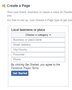 صفحه فيسبوك , انشاء صفحه فيسبوك.