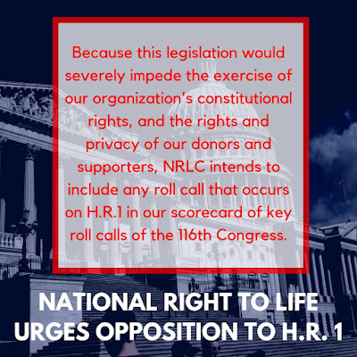 Federal Congressional update: Threats to free speech and upcoming House Action on the Born-Alive Abortion Survivors Act