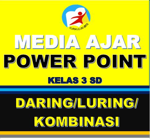 MEDIA PEMBELAJARAN POWERPOINT SD KELAS 3 DARING LURING