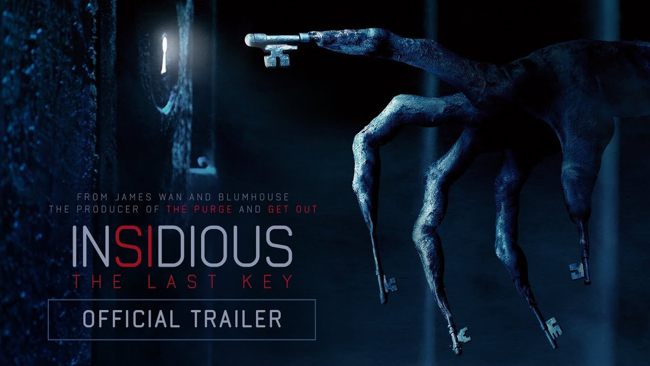 Insidious: The Last Key'    Official Trailer (HD) | SPLAT!