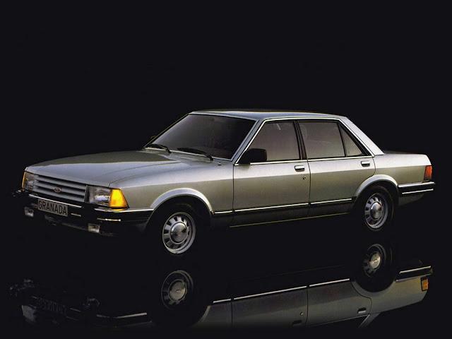 Ford Granada 1980 - inspirador do Ford Del Rey