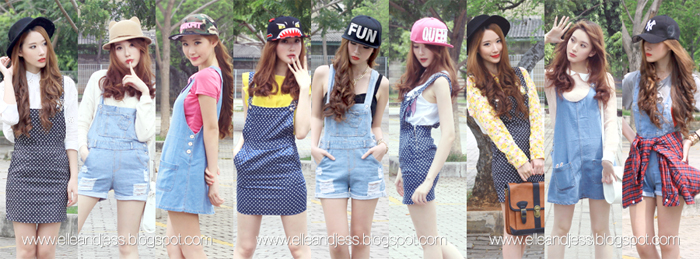 48d7230fc5d45 ELLE AND JESS: 9 Ways to Style Pinafores﹣Dungarees﹣Overalls plus ...
