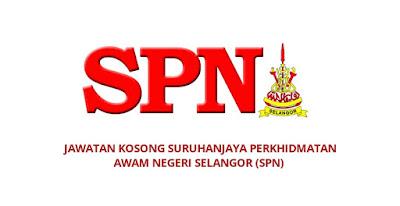 Jawatan Kosong Suruhanjaya Perkhidmatan Awam Negeri Selangor 2019 (SPN)
