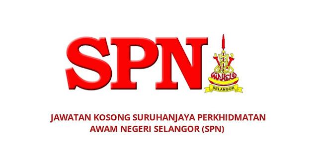 Jawatan Kosong Suruhanjaya Perkhidmatan Awam Negeri Selangor 2021 (SPN)