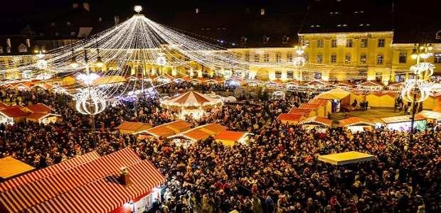 Targul de Crăciun de la Sibiu