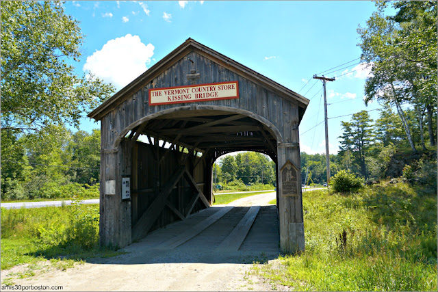 Kissing Bridge & Country Store en Vermont