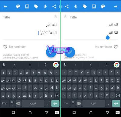 Cara Menulis Huruf Arab Berharakat Di Android Tanpa Aplikasi