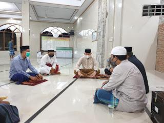 Usai Sholat Tarawih Kapolres Enrekang Kumpulkan Para Pengurus Masjid, Ada Apa?