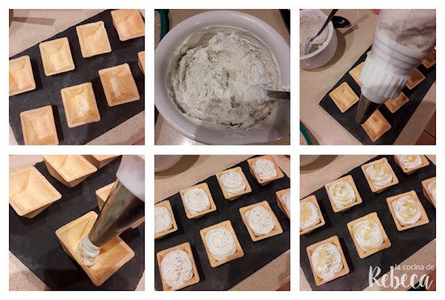 Receta de paté de nueces y queso azul 02