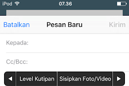 Cara Menyisipkan Foto Email di iPhone iPad iPod Touch