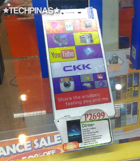 CKK Mobile Citrine+, CKK Android Smartphone