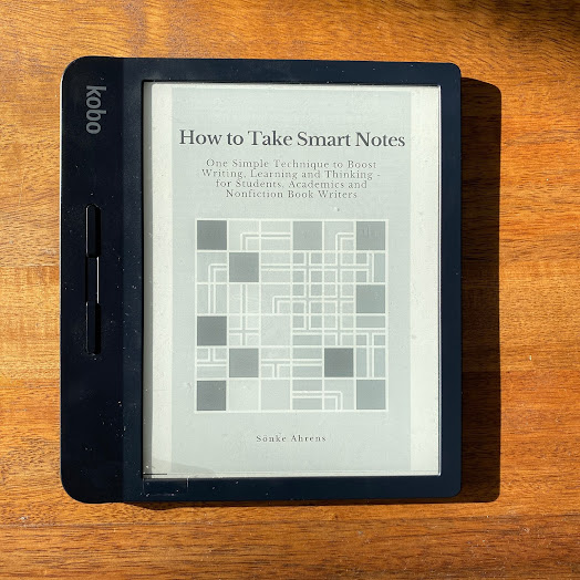 How to Take Smart Notes