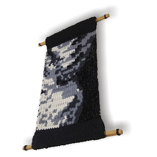 Too Skinny - Abstract Figure Tapestry by Jen Tennille