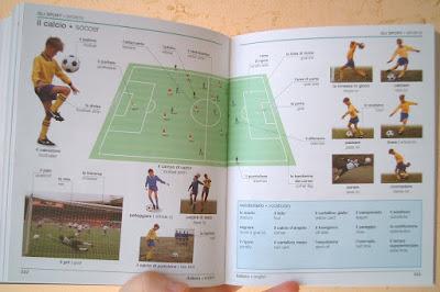Dizionario Visuale De Agostini interno sport calcio