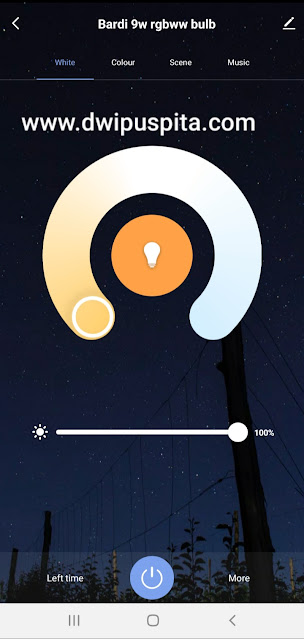 Warm and cool smart lights