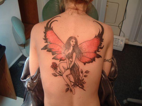 Tatuajes de hadas para mujeres